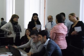 Second Curriculum Development Workshop organized at Tbilisi State University, 25-27 October, 2012